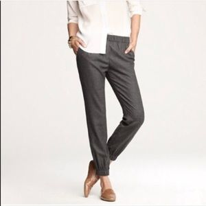J.crew grey trousers/ joggers
